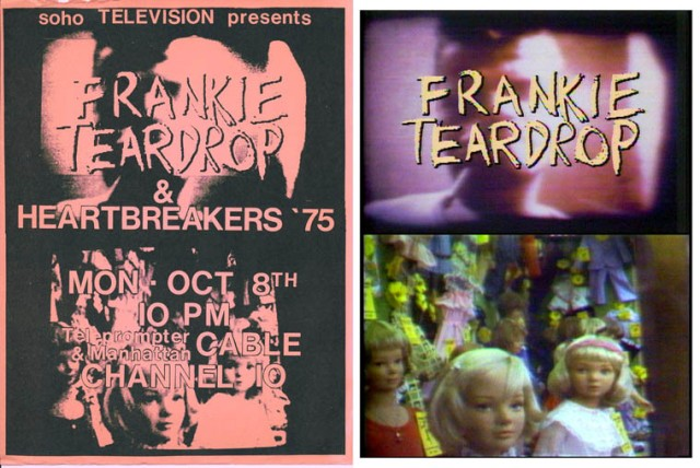 Poster for Frankie Teardrop premiere on Cable Soho (1979)