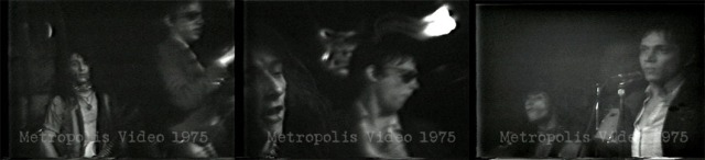 Screen shots of Heartbreakers 1975 © Metropolis Video
