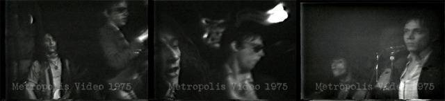 Screen shots of Heartbreakers 1975 © Metropolis Video